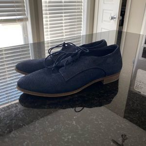 Navy Blue Vince Camuto Flats